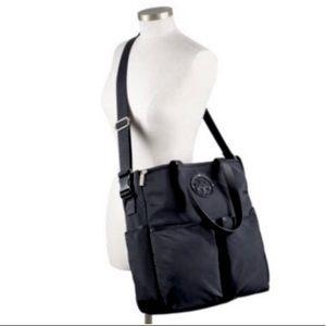 Tory Burch Large Black Nylon Bag